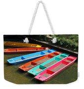 Colourful Punts Weekender Tote Bag