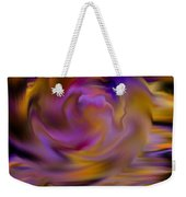 Colourful Swirl Weekender Tote Bag