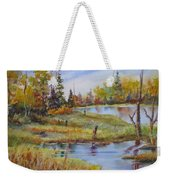 colours Of Elk Island Weekender Tote Bag