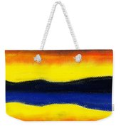 Colours Of Sky Weekender Tote Bag