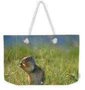 Columbia Ground Squirrel Feeding Weekender Tote Bag