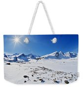 Columbia Icefield In Winter, Jasper Weekender Tote Bag