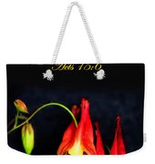 Columbine And Acts 15 16 Weekender Tote Bag