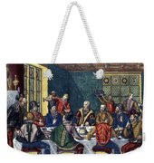 Columbus And The Egg Weekender Tote Bag
