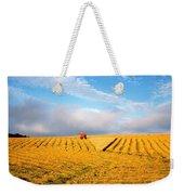Combine Harvesting, Wheat, Ireland Weekender Tote Bag