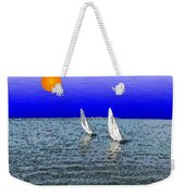 Come Sail Away With Me Weekender Tote Bag