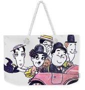 Comedians In Model T Weekender Tote Bag
