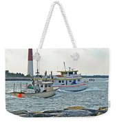 Coming Home - Barnegat Inlet Nj Weekender Tote Bag