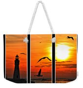 Coming Home Sunset Triptych Series Weekender Tote Bag