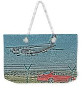 Coming In Weekender Tote Bag
