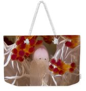 Commensal Shrimp On Soft Coral In Raja Weekender Tote Bag