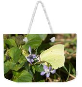 Common Brimstone Weekender Tote Bag