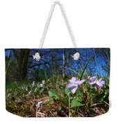 Common Dog-violet Weekender Tote Bag