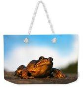 Common Frog Weekender Tote Bag