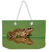 Common Frog Rana Temporaria Weekender Tote Bag
