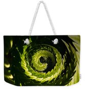 Common Polypody Swirl Weekender Tote Bag