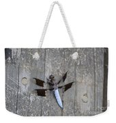 Common White Tail Dragonfly Weekender Tote Bag