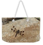 Common Whitetail Dragonfly Weekender Tote Bag