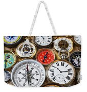 Compases And Pocket Watches  Weekender Tote Bag