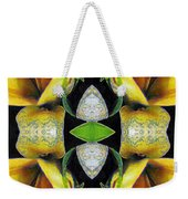 Compassion - Card X From The Tarot Of Flowers Weekender Tote Bag