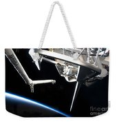 Components Of Space Shuttle Discovery Weekender Tote Bag