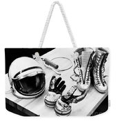 Components Of The Mercury Spacesuit Weekender Tote Bag