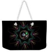 Computer Generated Flower Abstract Fractal Flame Modern Art Weekender Tote Bag