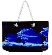 Computer Model Of Global Ocean Currents Weekender Tote Bag