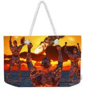 Conceptual Image Based On The Myths Weekender Tote Bag