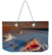 Conch Shell On Beach Weekender Tote Bag