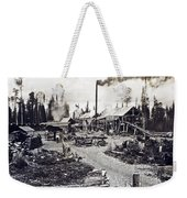 Concord New Hampshire - Logging Camp - C 1925 Weekender Tote Bag by International  Images