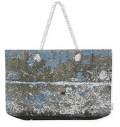 Concrete Blue 2 Weekender Tote Bag