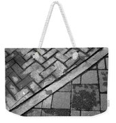 Concrete Tile - Abstract Weekender Tote Bag