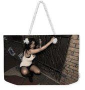 Concrete Velvet 13 Weekender Tote Bag by Donna Blackhall