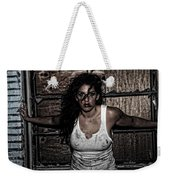 Concrete Velvet 35 Weekender Tote Bag by Donna Blackhall