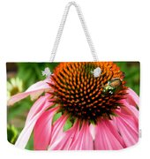 Cone Flower And Guest Weekender Tote Bag