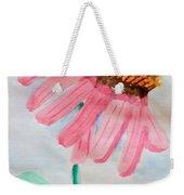 Coneflower - Watercolor Weekender Tote Bag