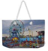 Coney Island Amusements Weekender Tote Bag
