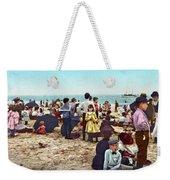 Coney Island: Beach, C1902 Weekender Tote Bag