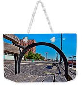 Coney Island Bench View Weekender Tote Bag