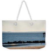 Coney Island Coastline Weekender Tote Bag