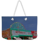Coney Island Facades Weekender Tote Bag