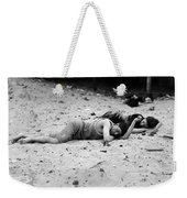 Coney Island: Sleeping Weekender Tote Bag