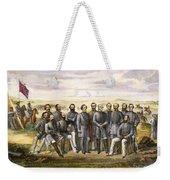 Confederate Generals Weekender Tote Bag