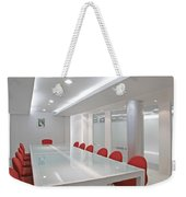 Conference Room Weekender Tote Bag by Setsiri Silapasuwanchai