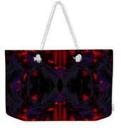 Conjoint - Crimson And Royal. Weekender Tote Bag