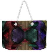 Conjoint - Multicolor Weekender Tote Bag by Christopher Gaston