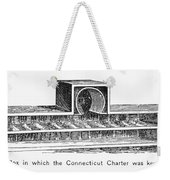 Connecticut: Charter Box Weekender Tote Bag