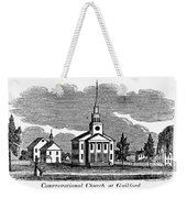 Connecticut: Church, 1836 Weekender Tote Bag