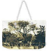 Conneticut Family Plot Weekender Tote Bag